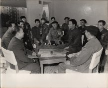 Unknown photographer, Chinese workers meeting #1