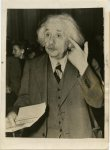 International News Photo, Prof. Einstein appears before the Angl