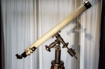 G. u S. Merz 75mm equatorial mounted telescope +/- 1890