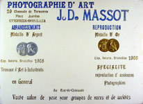 Publicity of J-D Massot